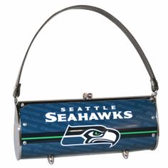 Seattle Seahawks License Plate Fender Purse Retro Sassy Clutch Eco-Fashion