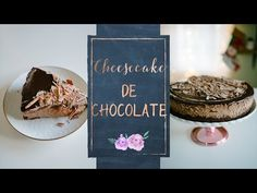 CHEESECAKE DE CHOCOLATE - YouTube