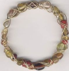 Easy Wire Work Bracelet Tutorials ~ The Beading Gem's Journal