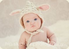 Hey, I found this really awesome Etsy listing at http://www.etsy.com/listing/125956368/knit-lamb-hat-bonnet-lamb-pixie-hat-with Awesome & beautiful knit baby hats!