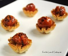 Roasted Tomato & Feta Mini Phyllo Tarts
