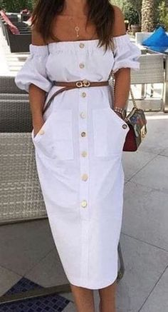 0b8bee6d0f  summer  outfits   100 Summer Outfits You Should Try Right Now 008 Casual  Dresses