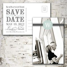 Custom Personalized Photo SAVE THE DATE by stewartdesignstudios, $18.00