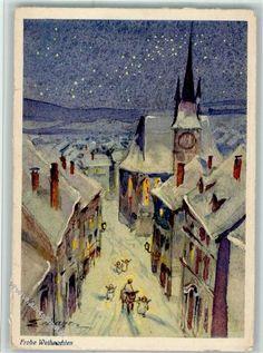 Nr. 156 Verlag Henke - Frohe Weihnachten AK