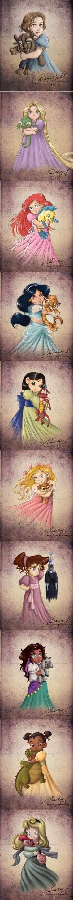Baby Disney Princess Megara | Babies Disney Princesses and Ladies 1 - from DeviantArt. In line ...