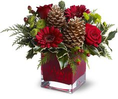 A Cozy Christmas Arrangement The Wild Orchid