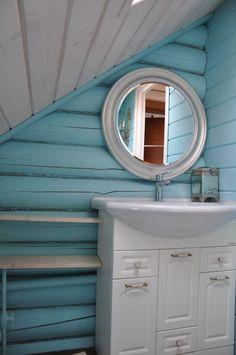 New bathroom interior design wood round mirrors ideas Bathroom Wood Shelves, Diy Wood Shelves, Bathroom Floor Tiles, Bathroom Wall Decor, Diy Projects Bathroom, New Bathroom Designs, Modern Bathroom Design, Bathroom Interior Design, Bathroom Shower Organization