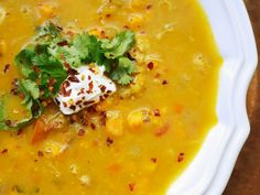 Mulligatawny soup from Serious Eats