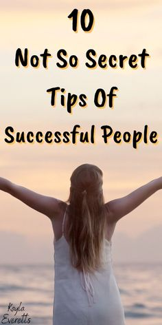 I'm going to let you in on the habits of successful people. Everyone has their own definition of success and all of these tips will apply t. How To Become Happy, Are You Happy, Self Development, Personal Development, Definition Of Success, Habits Of Successful People, Time Management Tips, Better Life, Life Is Beautiful