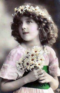 Grete with flower