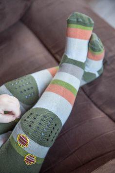 Vanhasta trikoopaidasta paikat sukkahousuihin