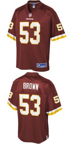 63d8b84e25342 UP TO 70% OFF. Zach Brown Washington Redskins NFL Pro Line Team Color Player