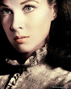 Vivien Leigh as my favourite silver screen star: Scarlett