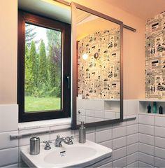 Okno w łazience
