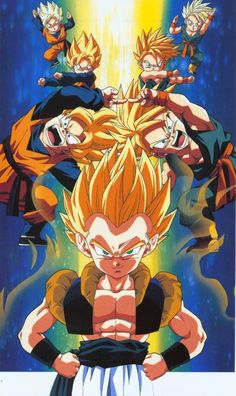 Collecting, posting, and preserving only the best possible quality scans of original Japanese promotional artwork for Dragon Ball, Dragon Ball Z, and Dragon Ball GT from 1986 - 1997 Dragon Ball Gt, Dragon Z, Dbz Pictures, Goten E Trunks, Masakazu Katsura, Akira, Manga Dragon, Z Wallpaper, Super Anime