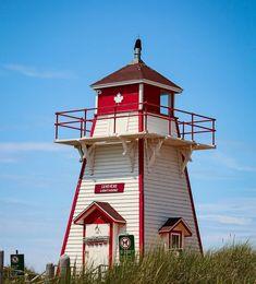 Prince Edward Island, Lighthouse, Canada, Beach, Outdoor Decor, Instagram, Home Decor, Bell Rock Lighthouse, Homemade Home Decor