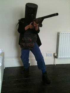roshan information blog: My Ned Kelly costume for book day