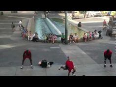 The Afrobats Perform Acrobatics in NYC for the Stars of the Streets Contest