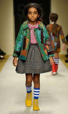 Sulla scena di Pitti nove marchi internazionali della moda per i più piccoli puntano sulla ricerca e su concept contemporanei