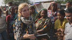 Dr. Koko Warner (UN-Universität Bonn) besucht den Beguntila-Slum