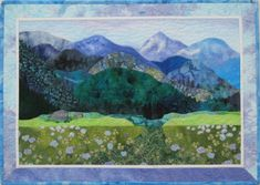 landscape quilting - Google Search