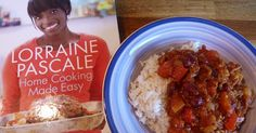 As mentioned previously , I'm a recent convert to Lorraine Pascale's  cooking. I've made several recipes from her Home Cooking Made Easy...