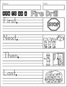 Writing Journal Prompts September. This book contains a collection of journal prompts for the month of September. The simple prompts are ideal for beginning and struggling writers in Kindergarten, Grade 1 and Grade 2. How to do a fire drill.