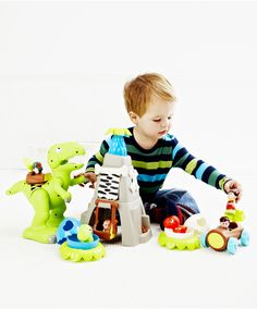 HappyLand Dino Playset : HappyLand Dino Playset : Early Learning Centre UK Toy Shop