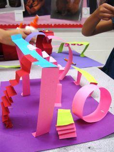 art lesson plan paper playground - Google Search