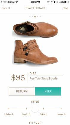 Stitch fix: cute booties