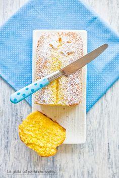 Plumcake limone e zenzero - La gatta col piatto che scotta