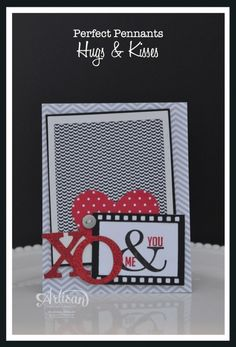 Stampin' Up! Valentine by Artisan Wedenesday Wow ~ Hugs & Kisses ~ Sleepless Stamper