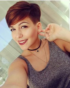 "2,022 Likes, 15 Comments - Short Hairstyles Pixie Cut (@nothingbutpixies) on Instagram: ""Are you looking at me @violacastel"""