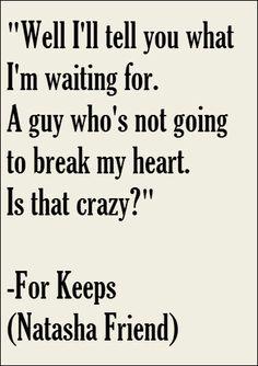 -- For Keeps (Natasha Friend)