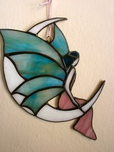 Stained glass Elpida Fairy by Cdeep on Etsy