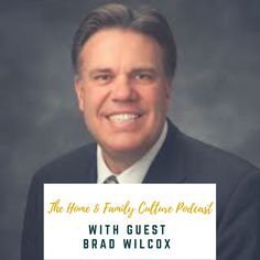 I had the honor of talking with Brad Wilcox about the importance of family culture.  He is incredibly insightful, and it was a real privilege to talk with him.  I'll be honest, I have been pretty overwhelmed with my roles lately, and I was starting to question where I wanted to take this podcast. I had this interview scheduled and I knew I didn't want to miss this opportunity.  Talking with Brad helped me remember why I wanted to start this podcast in the fi...