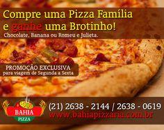 Não Percam, PROMOÇÃO Bahia Pizzaria! Faça seu pedido através do nosso número: 2638-2144 - http://bahiapizzaria.com.br/cardapio-petiscos-pizzaria-pizza-itaipuacu-marica.html