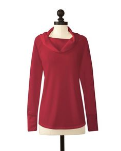 Stanford Cardinal   Cowl Neck Sweater   meesh & mia