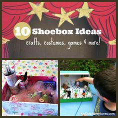 Are your kids' eyes glued to an electronic box? Give them an empty shoebox instead. These 10 shoebox ideas are all you'll need to keep every...