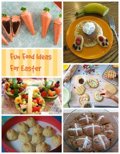 A round-up of some of our favourite fun food ideas for Easter - including one of our own.