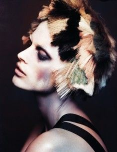 textured haircuts prickly toothpick headdress photography hair 2053