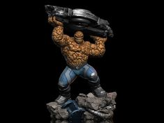 "ArtStation - Ben Grimm ""The Thing"", Earl Vincent Kasilag Marvel Statues, Fantastic Four, Grimm, Comic Books Art, Iron Man, Sculpting, Action Figures, Scale, The Incredibles"