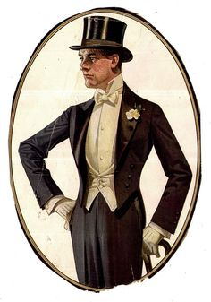 J.C. Leyendecker illustration / Kuppenheimer Suits
