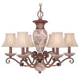 Found it at Wayfair - Tapestry 6 Light Chandelier