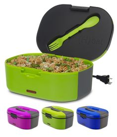 NEW! Plug In Heated Lunch Box