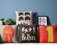 Almofadas dos Beatles