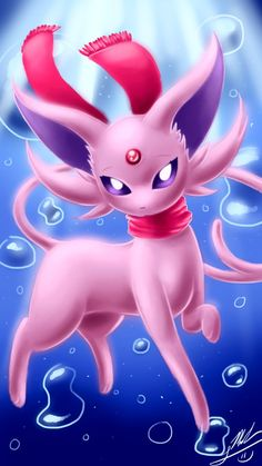 I finally did Espeon! Sorry i haven't post eeveelution on Deviant Art for a long time, but i made sure i spent lot of time on this one! Espeon is such a. Pokemon Eevee Evolutions, Umbreon And Espeon, Cute Animal Drawings, Cute Drawings, Pokemon Painting, Pokemon Backgrounds, Cute Pokemon Pictures, Cute Fantasy Creatures, Cute Pokemon Wallpaper