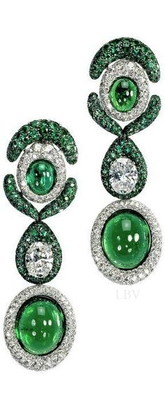 De Grisogono Jewelry: Emeralds and Diamonds