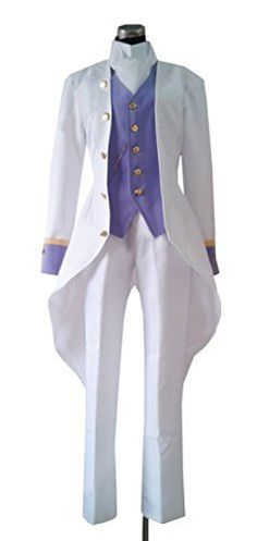Dreamcosplay Anime Black Butler Angela Blanc White Costume Cosplay >>> You can find out more details at the link of the image.