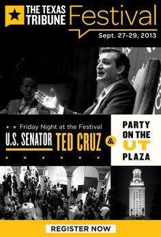 U.S. Sen. Ted Cruz and Party On The Plaza